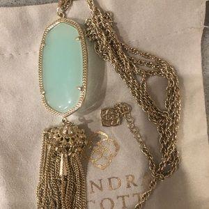 Kendra Scott Chalcedony Rayne Necklace